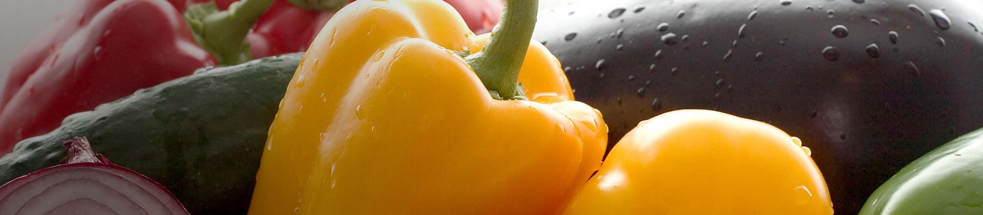 Paprika/Aubergine