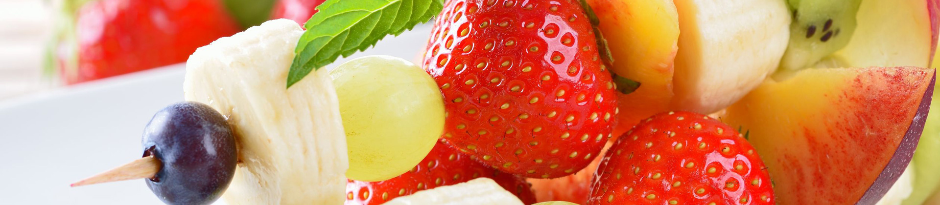 Spiesjes zomerfruit